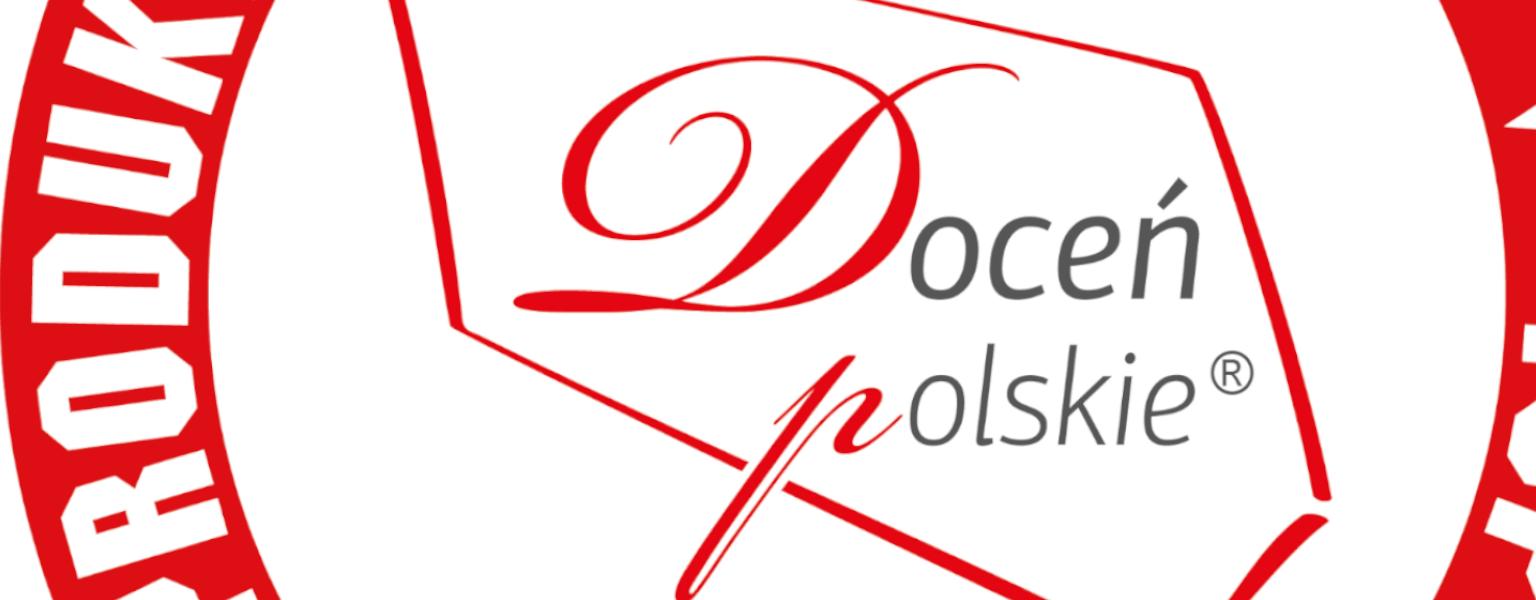 """Nasze produkty wyróżnione certyfikatem """"Doceń polskie"""""""